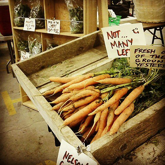 Winter farmers' market: third week!
