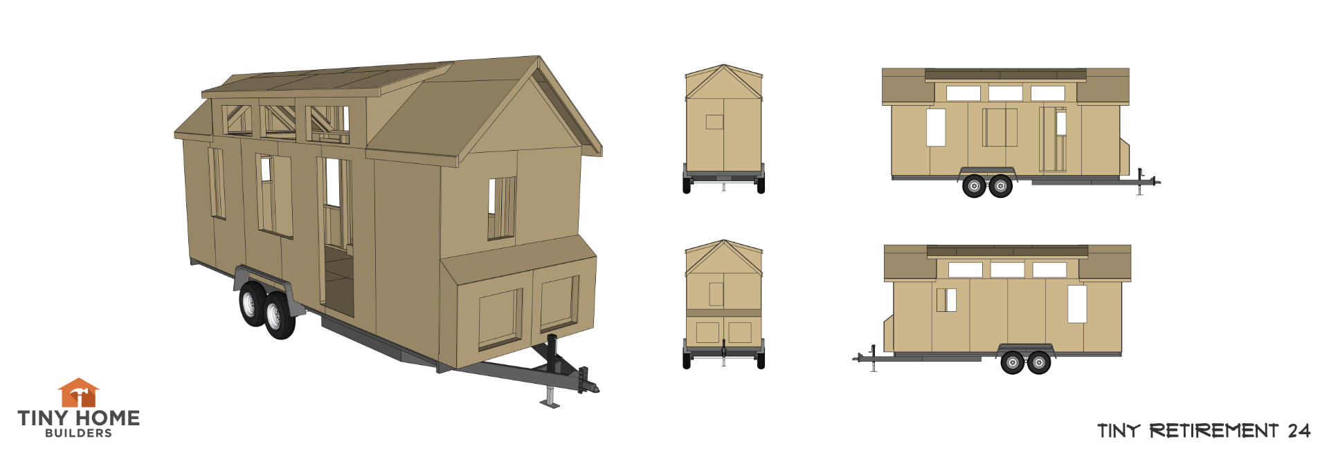 Tiny House With Garage Plans Tiny House Plans Tiny Home Builders