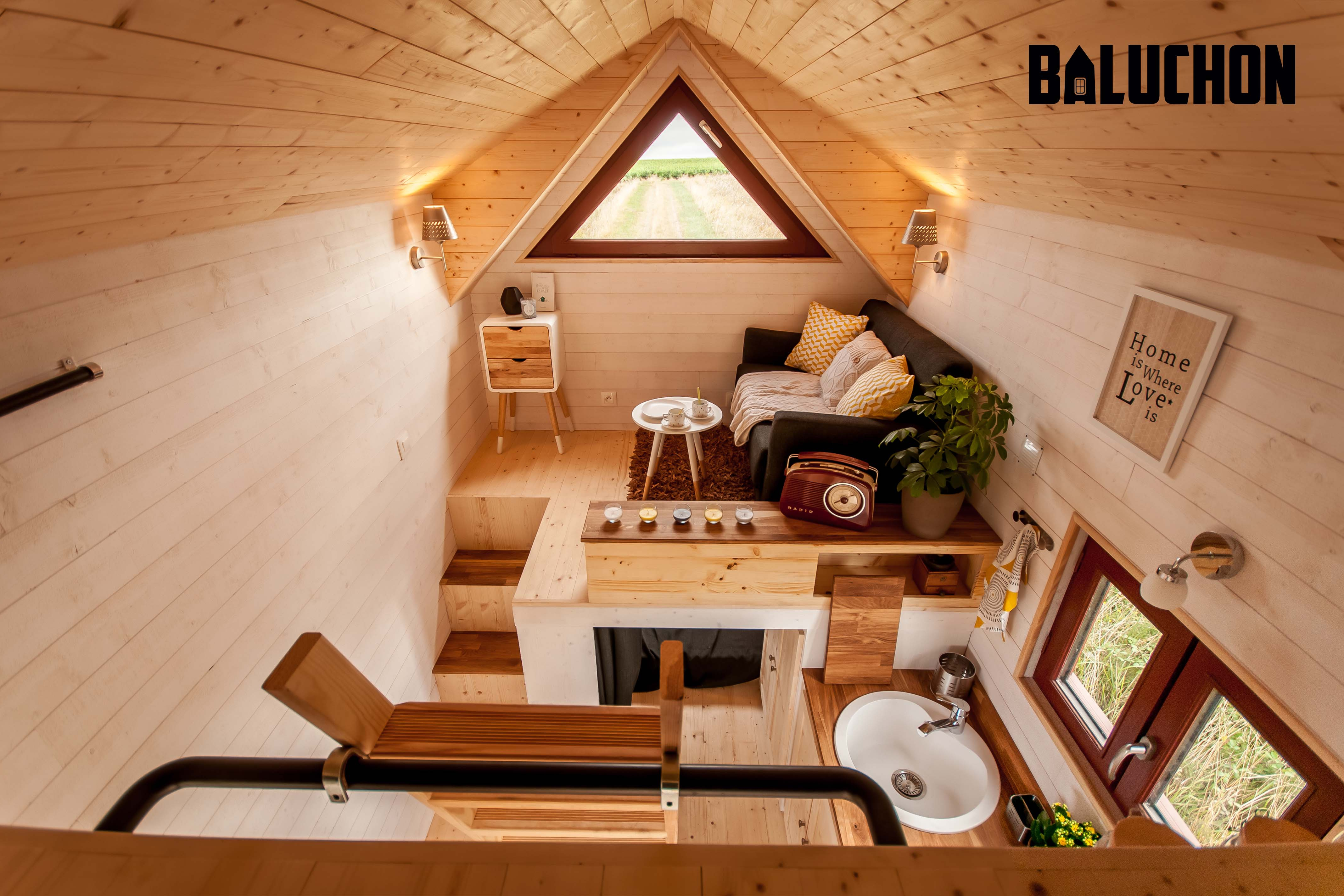 Small Space House Design Tiny House Odyssée