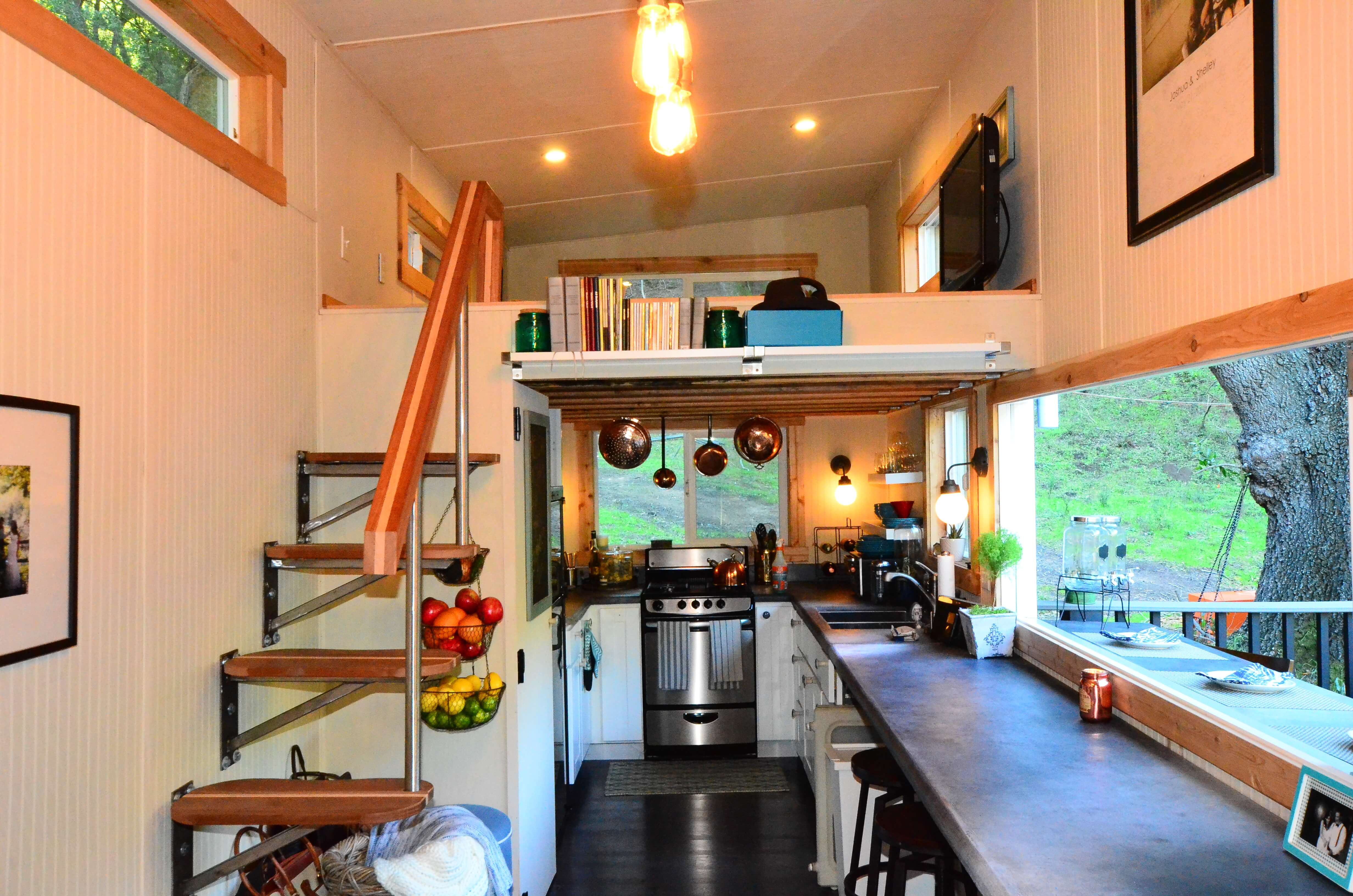 Small Homes Interior Tiny House Walk Through Interior Tiny House Basics