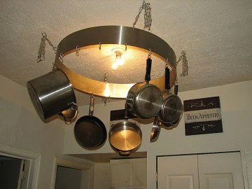 http://tinyhouseblog.com/tiny-furnishings/a-ceiling-rack-for-the-small-kitchen/