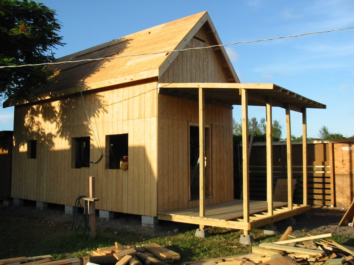 Keith Is Building The 12 24 Homesteader S Cabin