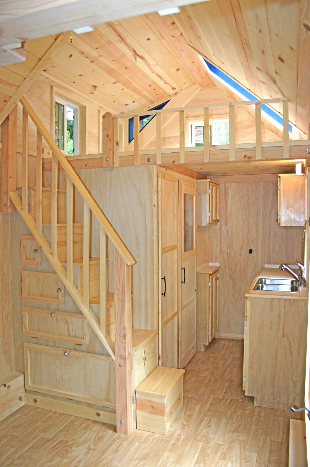 Stair Designs For Small Houses Molecule Tiny Homes