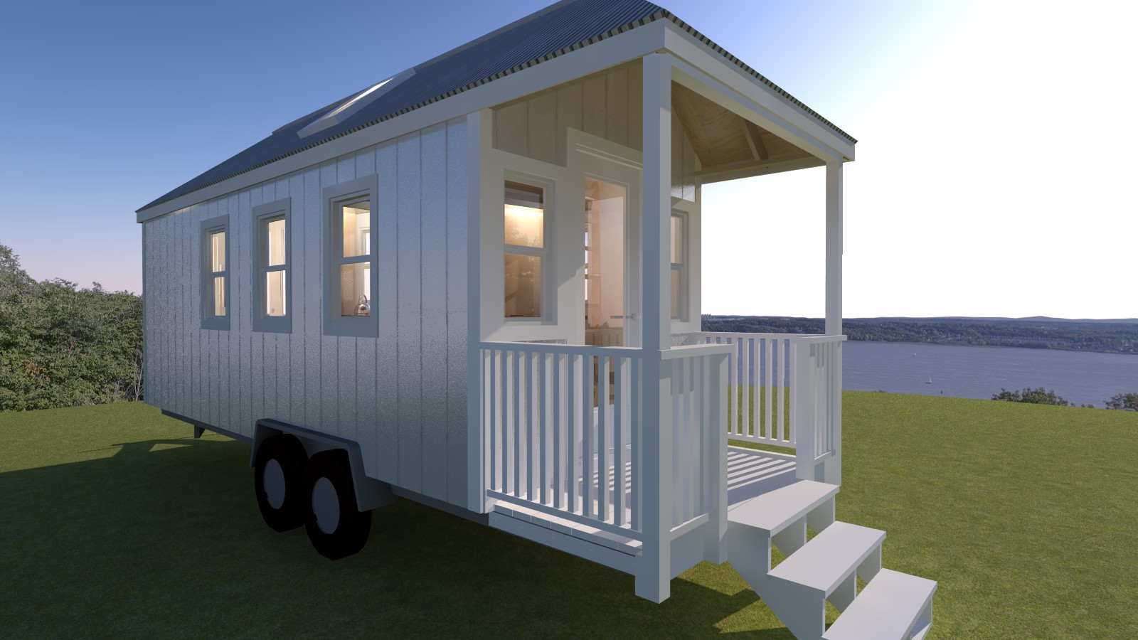 House 24 Boonville 24 Tiny House Plans