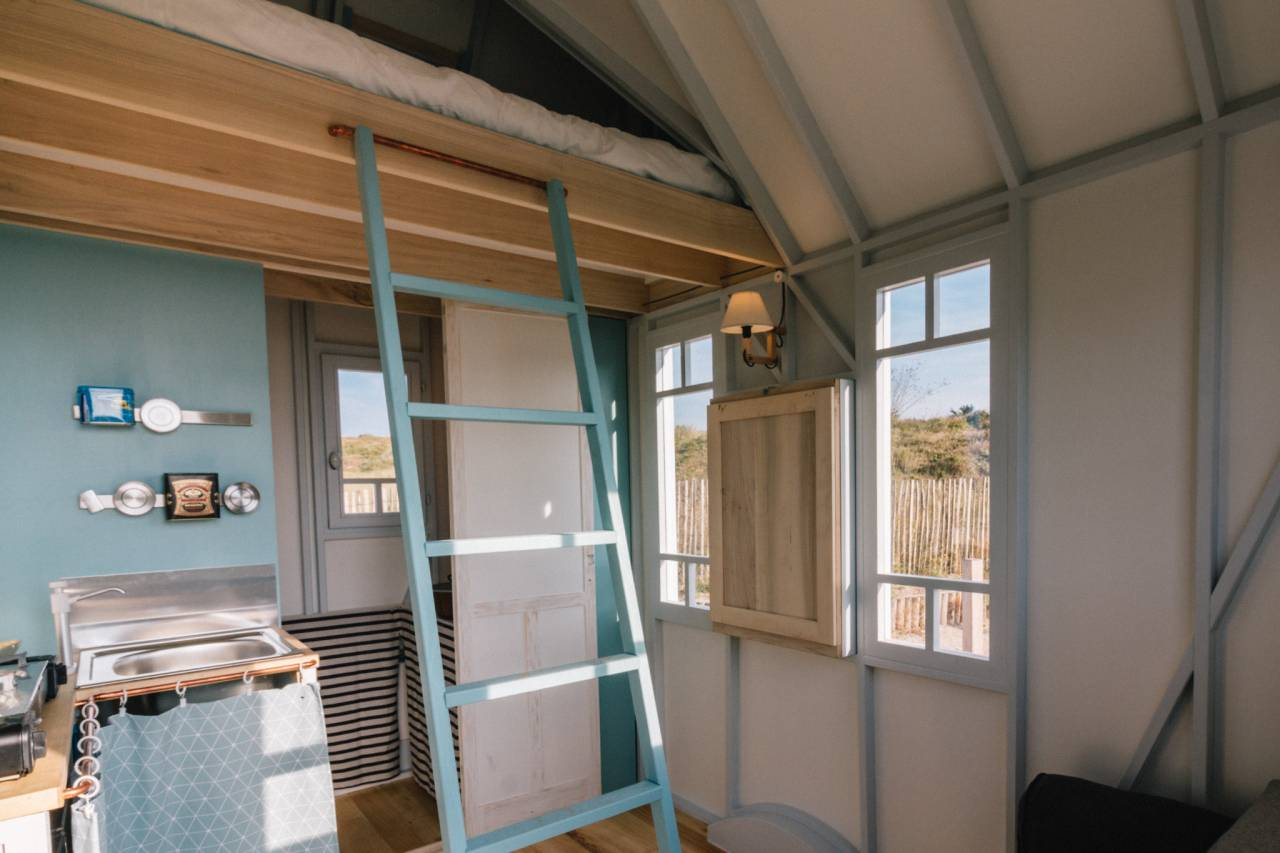 Maison En Bois Construction Tiny House Cahute - Tiny House France