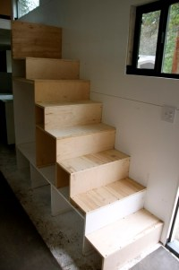 How to Build a Staircase with Storage for your Tiny Home ...