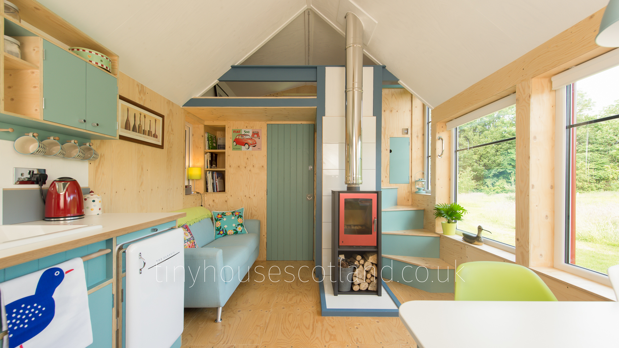 House Designs Scotland Nesthouse Moveable Micro House Complete Build Ex Works
