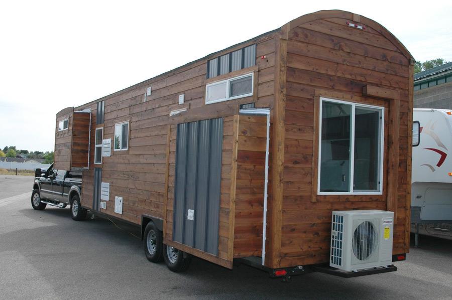 tiny house gooseneck trailer
