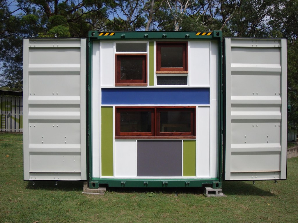 Container Storage Brisbane Queensland Container Tiny House Swoon