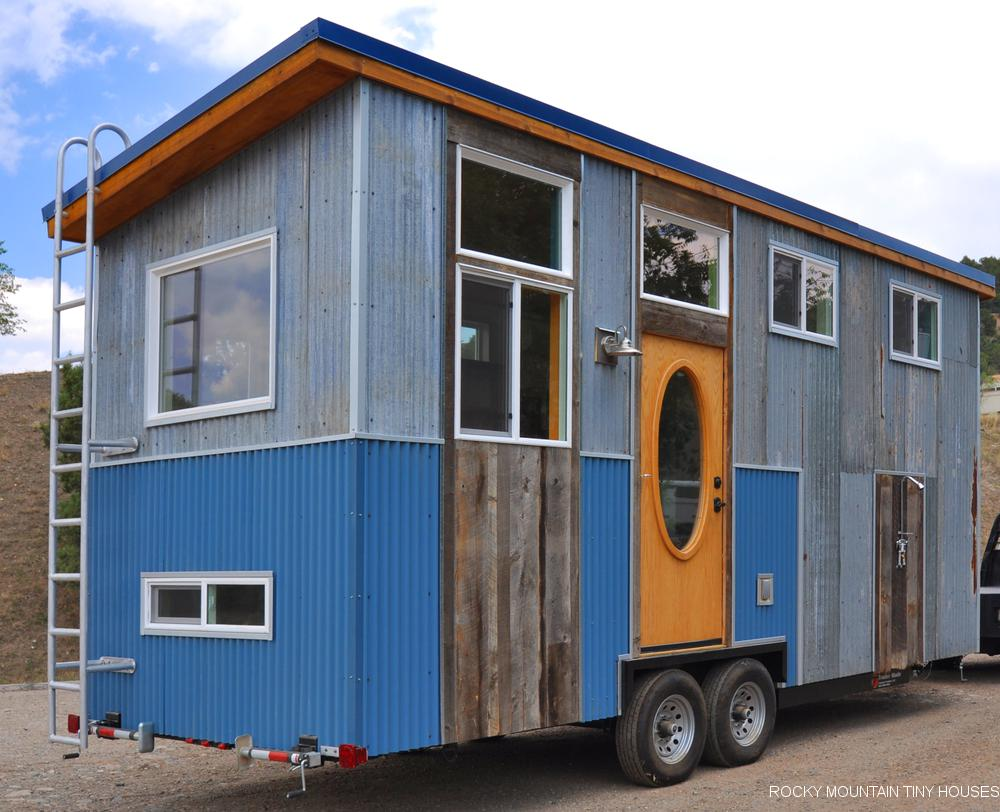 24ft Tandy Tiny House Built For Young Woman In The Air Force