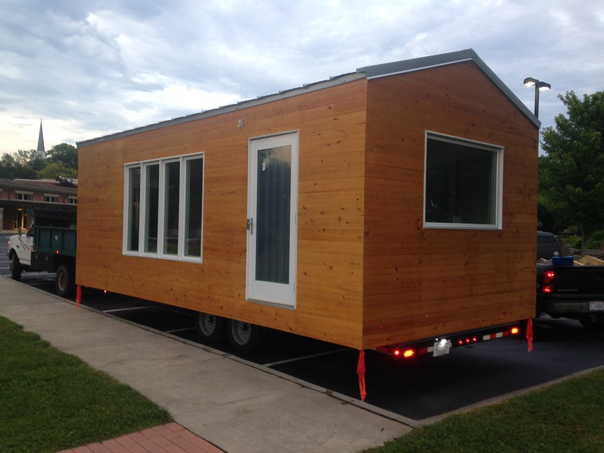 12 39 X24 39 Minim Style Tiny House On Wheels For Sale