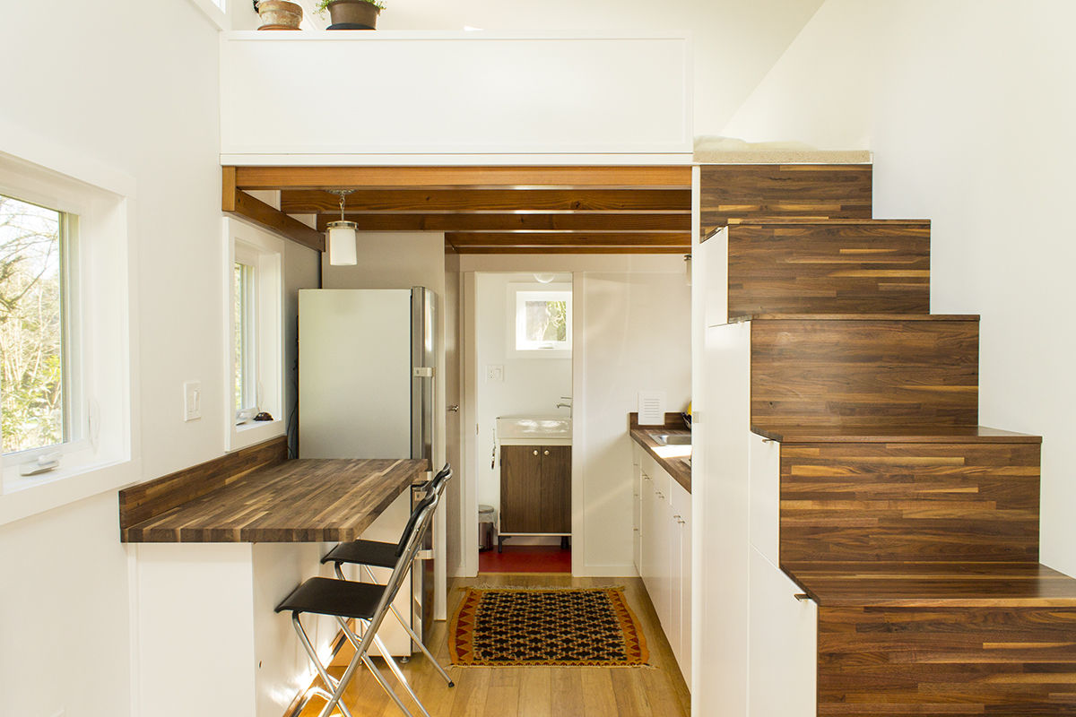 Small Space House Design The Light Filled Hikari Box Tiny House On Wheels