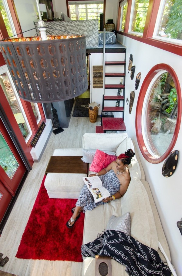 Woman Downsizes into Amazing Tiny Home on Wheels