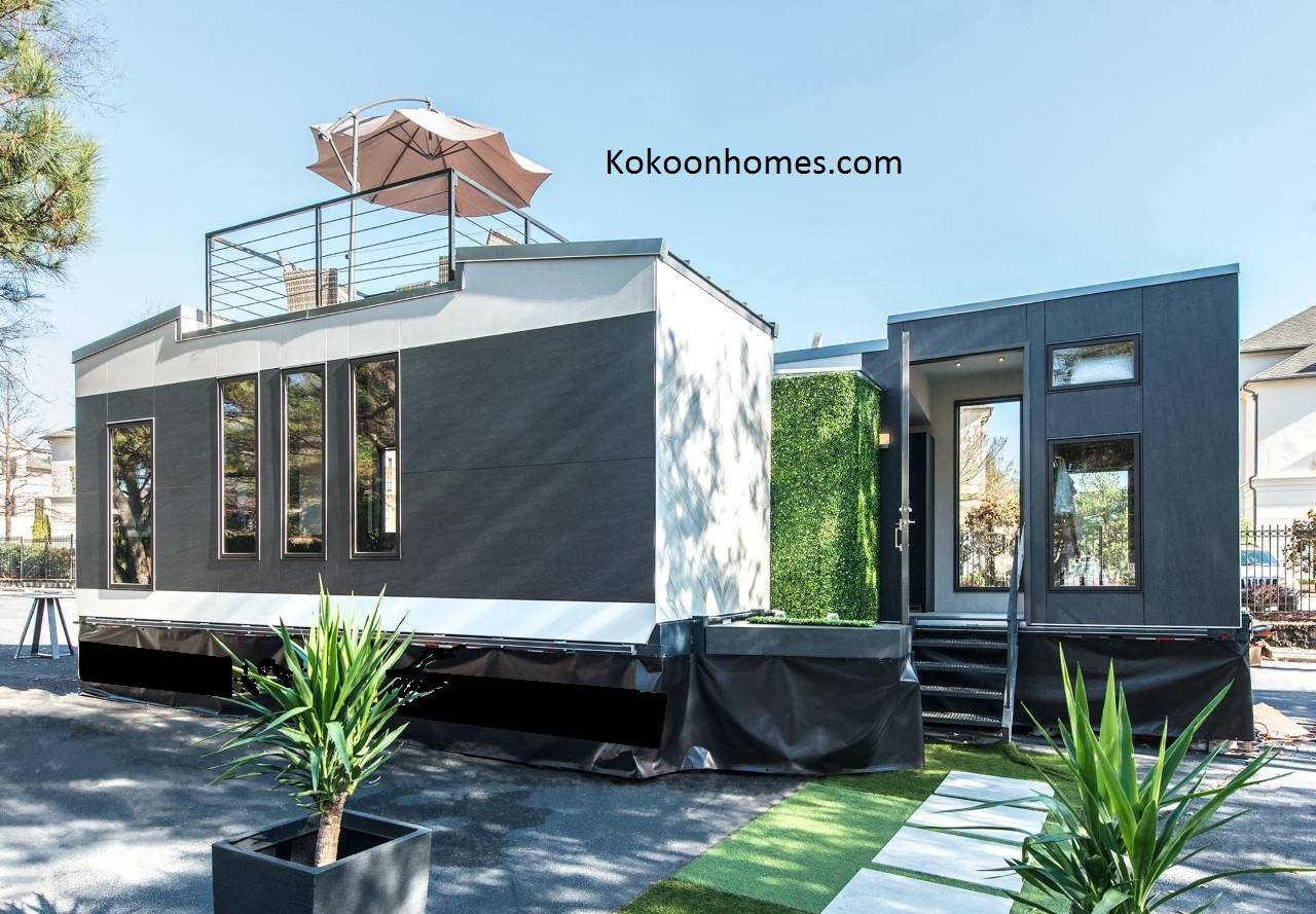 House 24 Kokoon Home Kits Two 8x24 Tiny Homes