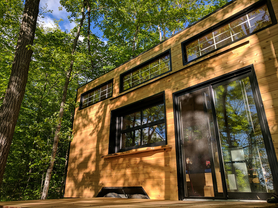 A Houses For Rent The Auburn: Cabinscape Ontario Tiny House Vacation
