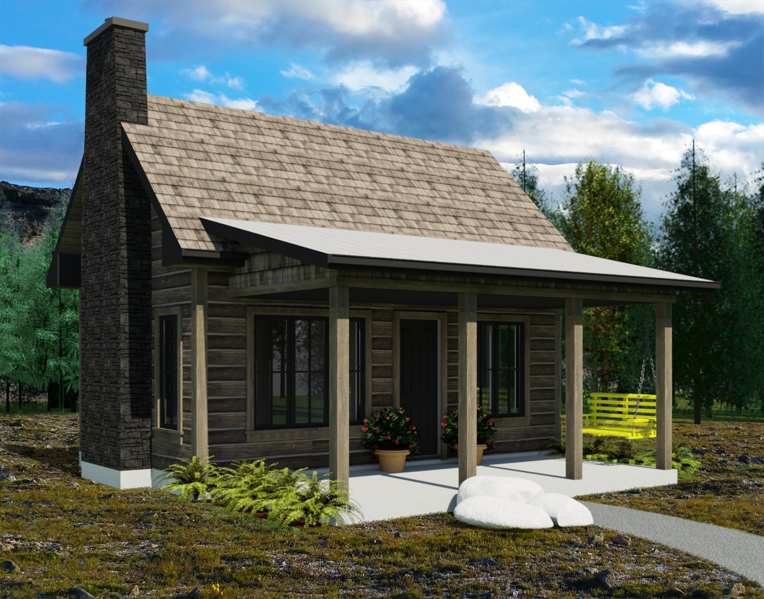 Designing A Small House The Yukon Tiny House Plans By Robinson Residential