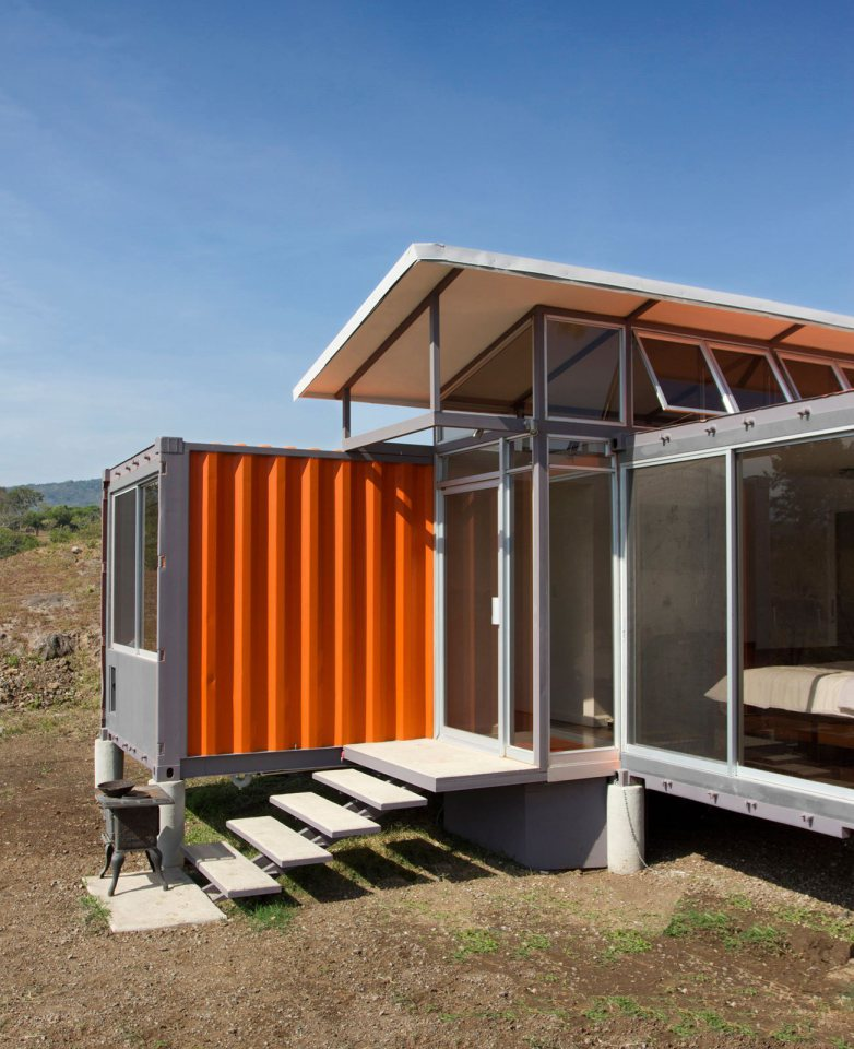 Container House Containers Of Hope Affordable Tiny Housing