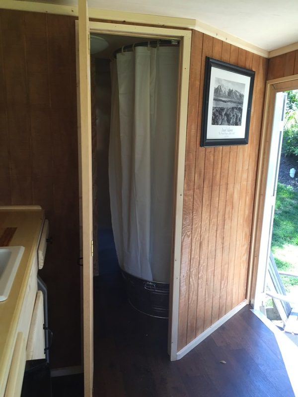 Storage Unit Houses Cargo Trailer Tiny House Conversion For Sale