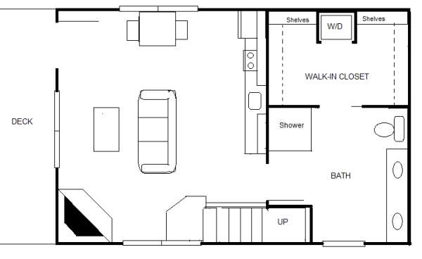 840 Sq Ft 2039 X 3039 Cottage For Two