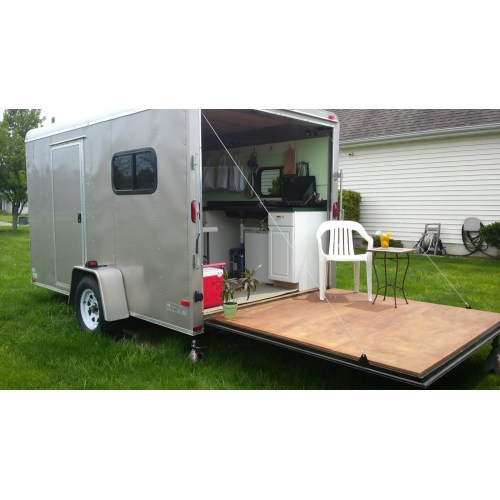 Medium Crop Of Cargo Trailer Camper