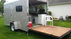 Small Of Cargo Trailer Camper
