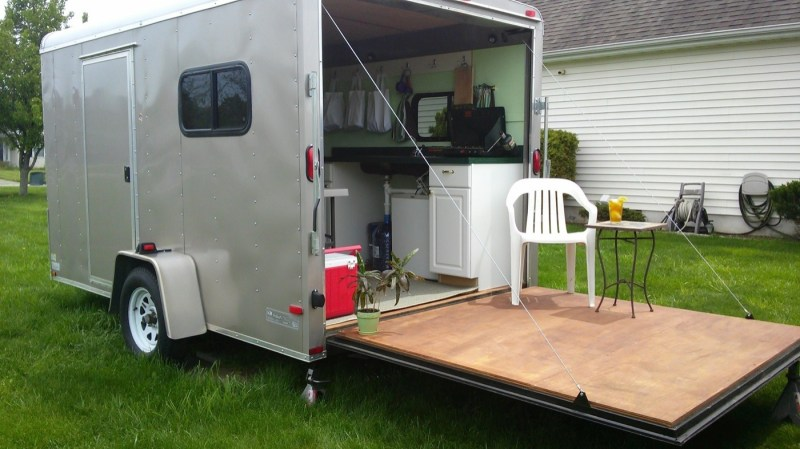 Large Of Cargo Trailer Camper