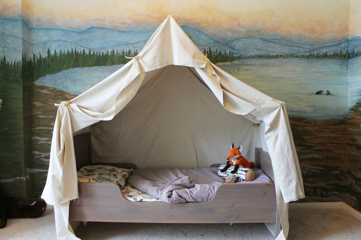 Themed Toddler Beds 10 Camp Themed Bedrooms Tinyme Blog