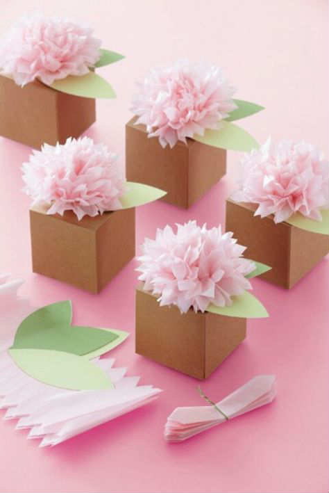 Cajas Carton Decoradas Baratas 10 Tissue Paper Crafts - Tinyme Blog