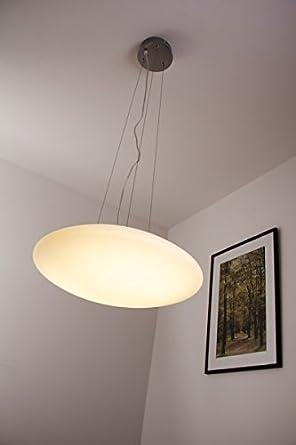 LED Hänge- \ Pendelleuchte mit Glas 24 Watt - 1400 Lumen - 3000 - badezimmer spiegelschr amp atilde amp curren nke mit beleuchtung nice look