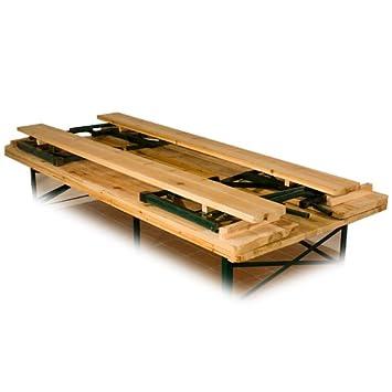 ... Bierzeltgarnitur Mit Rückenlehne Und Klappbarem Tisch 180x70cm   Badezimmerspiegel  3 T Amp Uuml Rig ...