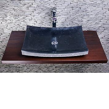 Spa Ambiente, Marmor Naturstein, Aufsatz Waschbecken Marmor ZEN - badezimmer spiegelschr amp atilde amp curren nke mit beleuchtung nice look