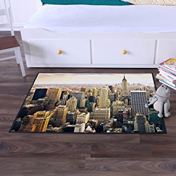 Ausgefallene Design Fußmatte von banjado mit Motiv New York City - de2 - esszimmer eimsb amp uuml ttel