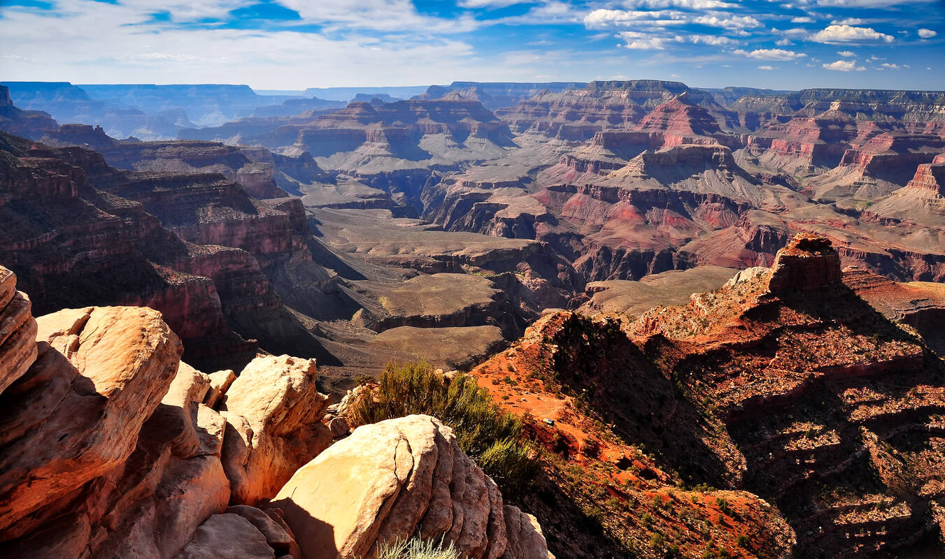 Grand Bezienswaardigheden Grand Canyon Tioga Tours