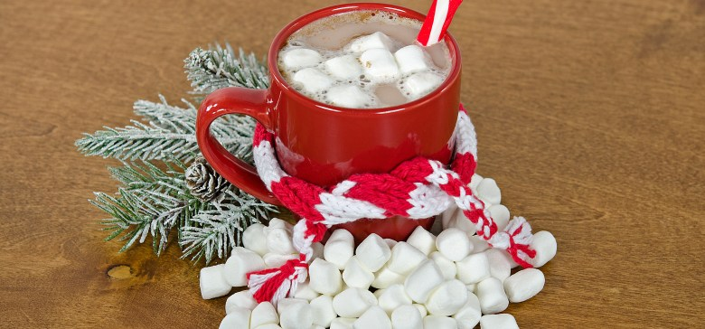 Christmas hot chocolate