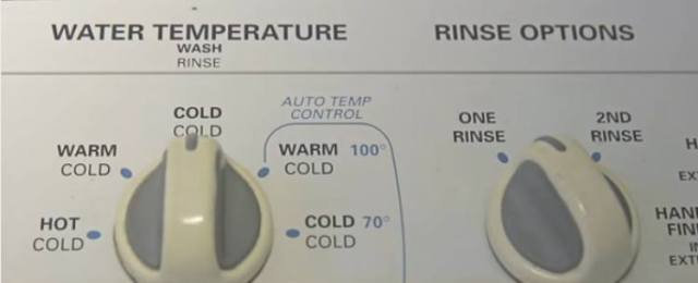 Wash clothes in cold water to prevent shrinking