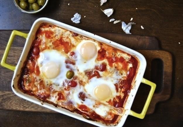 Feta with Eggs