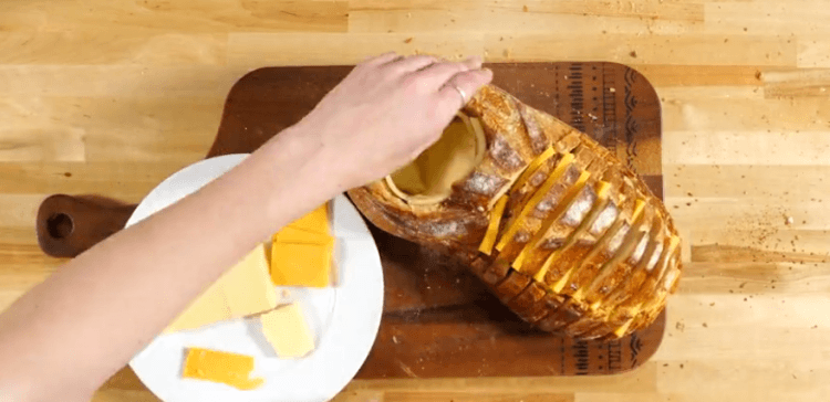 Grilled Cheese Bread Bowl