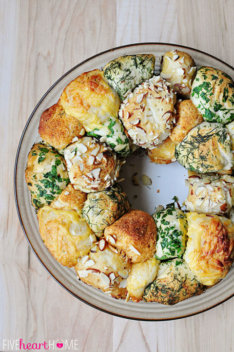 Herb Monkey Bread Bundt