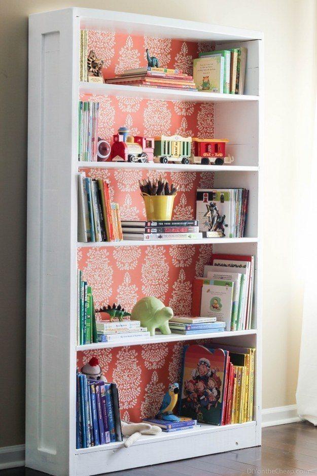 Wallpaper Bookshelf