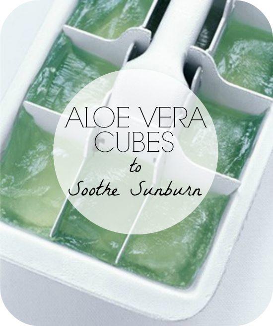 Aloe Cubes