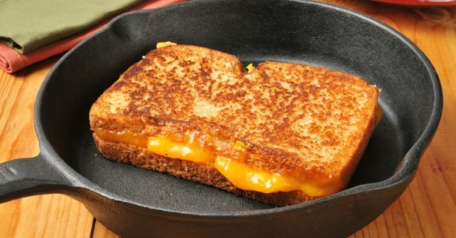 Mayo Grilled Cheese Header