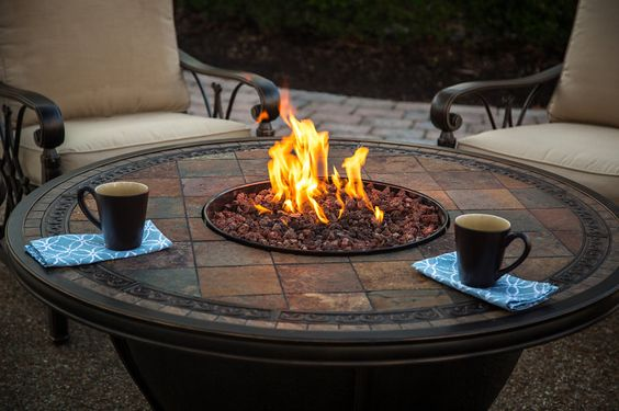 Mid-Table Fire Pit