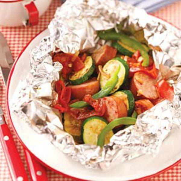 Sausage Veggie Packet 2