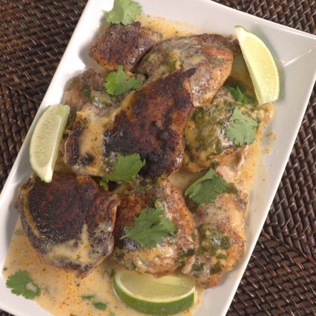 Slow Cooker Cilantro Lime Chicken Thumbnail 2