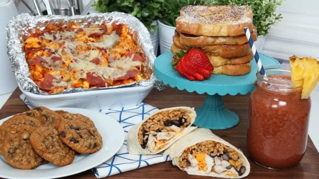 Breakfast, lunch, dinner and dessert to make ahead and freeze