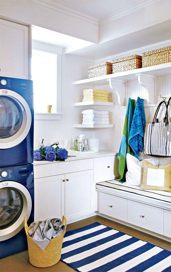 Bold Laundry Room
