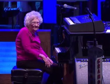 Grandmother performs at the Grand Ole Opry