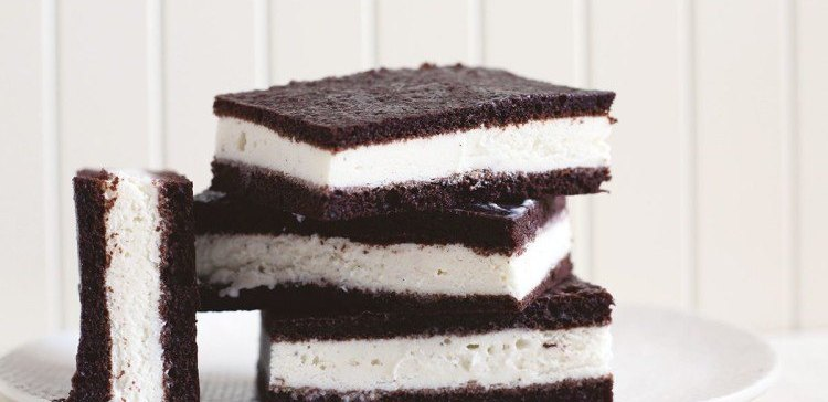 How to make homemade ice cream sandwiches,