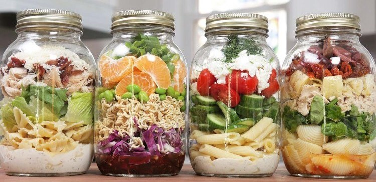 How to make pre-made pasta salad.