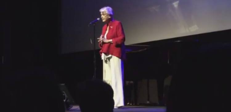 "Angela Lansbury sings ""Beauty and the Beast"" for film's 25th anniversary"